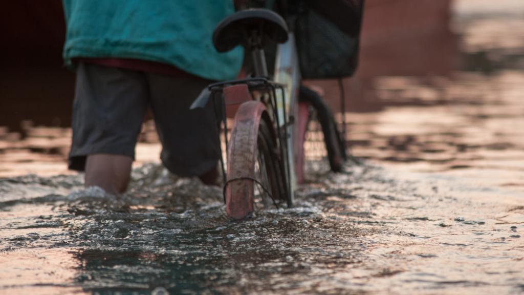 Akibat Hujan Deras, Gardu Tambak Lorok Teredam Banjir