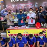 Judi Berujung Rugi: Polrestabes Semarang Mengamankan 5 Tersangka