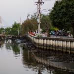 SMID-Bangunan Liar Bantaran Kali Es Semarang Dibongkar
