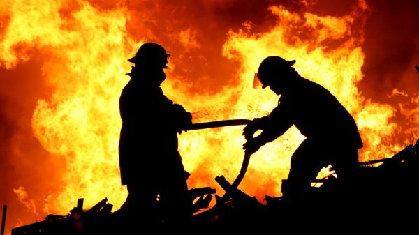 SMID-Pasar Srogo Kendal Mengalami Musibah Kebakaran