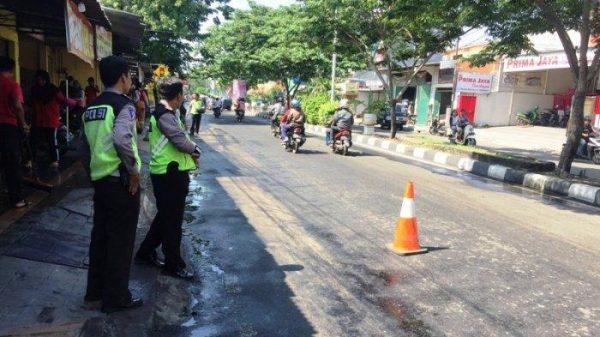 Kecelakaan Maut Di Tlogosari Raya, Pemotor Alami Luka Parah Usai Tabrak Tiang Telkom